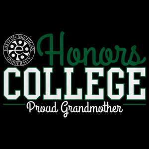 Proud Grandmother, Green and White Ink