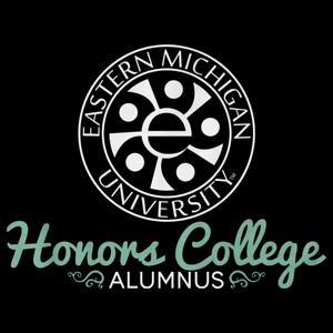 Alumnus, White Ink Honors Swirl