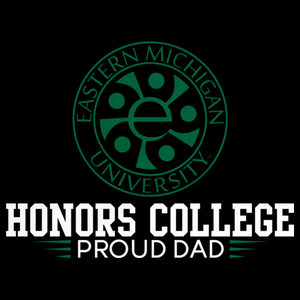 Proud Dad, Green and White Honors Winged