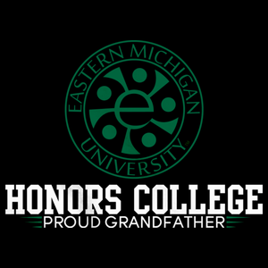 Proud Grandfather, Green and White Honors Winged